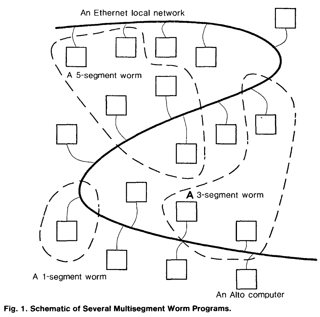 Schematic of Several Multisegment Worm Programs